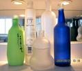 玻璃瓶蒙砂粉
