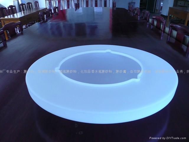 灯饰玻璃蒙砂粉 3