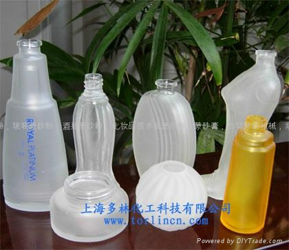 Automatic glass bottles  frosting machine 5