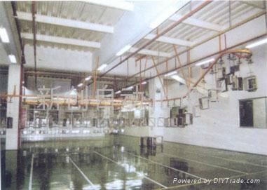 五金機箱機櫃噴油烤漆線 2