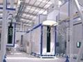 大型電腦機箱機櫃自動噴塗線