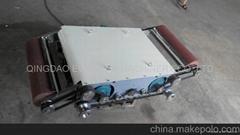 輸送帶平板硫化機加熱板清理機
