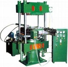 带自动推出装置平板硫化机