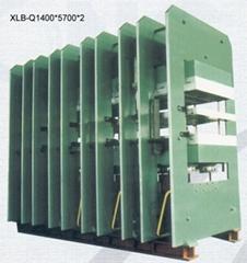 hydraulic press for conveyor belts