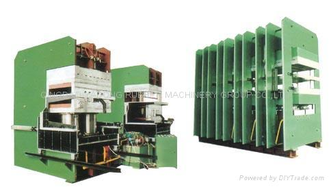 hydraulic press for conveyor belts 2
