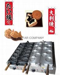 taiyaki maker with red bean maker