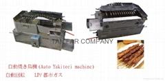 日式自动回转串烧机