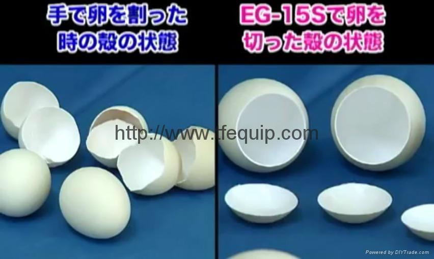 日本自动开蛋壳顶盖机  割卵机  二手