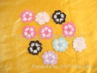 多色刺繡花邊 1