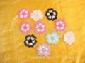 多色刺繡花邊