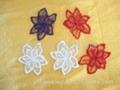 多色刺繡花邊 2