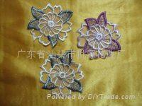 多色刺繡花邊 3