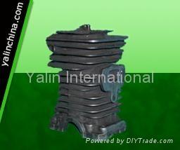 Husqvarna chainsaw 142 cylinder assy/parts and piston kits 1
