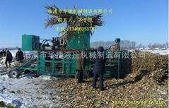 移动式玉米秸秆打包机