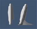 北京TC200超薄型桌面挂壁式指纹考勤机 2