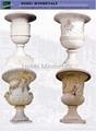 Marble Flower Pot 1