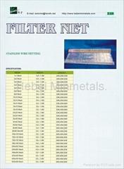 Filter Netting