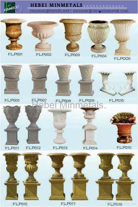 Marble Flower Pot 4