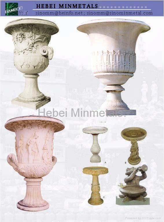 Marble Flower Pot 3