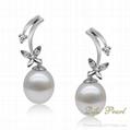 925 Silver Fashion Pearl Earring