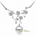 925 Silver Freshwater Pearl Necklace 1
