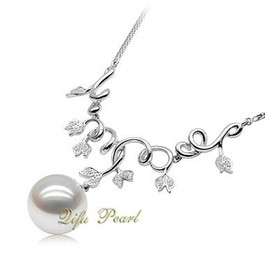 925 Silver Freshwater Pearl Necklace 3
