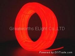 el wire neon red