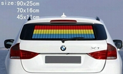 Equalizer car sticker