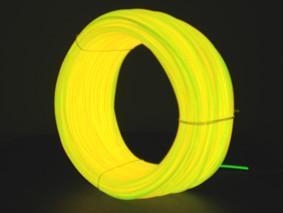EL發光線 冷光線黃色 1