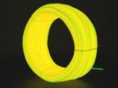 EL发光线 冷光线黄色