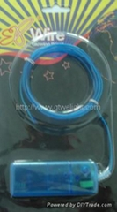 EL Wire Set(blue white yellow green)