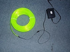 EL flashing wire with 12V different color