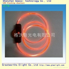 LED lighting shoelace