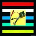 摩托踏板车配件汽车灯车内改装饰用品 发光线冷光线 EL灯条片带  5