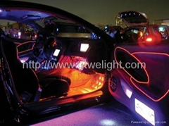 different300cM EL Wire Neon Light Rope for Party Car Decorati+BATTERY PACK