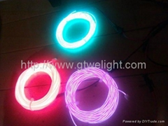 EL Wire, Neon WIre+12V DC Inverter + 5 Meter EL Wire manufacture