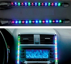 Car Sticker Sound music Activated Sensor Colors LED Light global hot from China