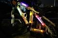 Lighting LED bike strip