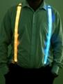 Lighting LED waist belt suspender
