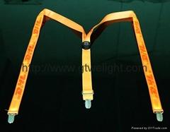 newest LED suspenders belt strap