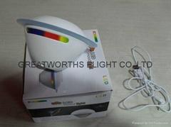 new UFO 256color LED moo