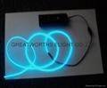 5米12V驱动器电池盒EL发光线 车内EL冷光线 汽车装饰灯 汽车内饰改装 9