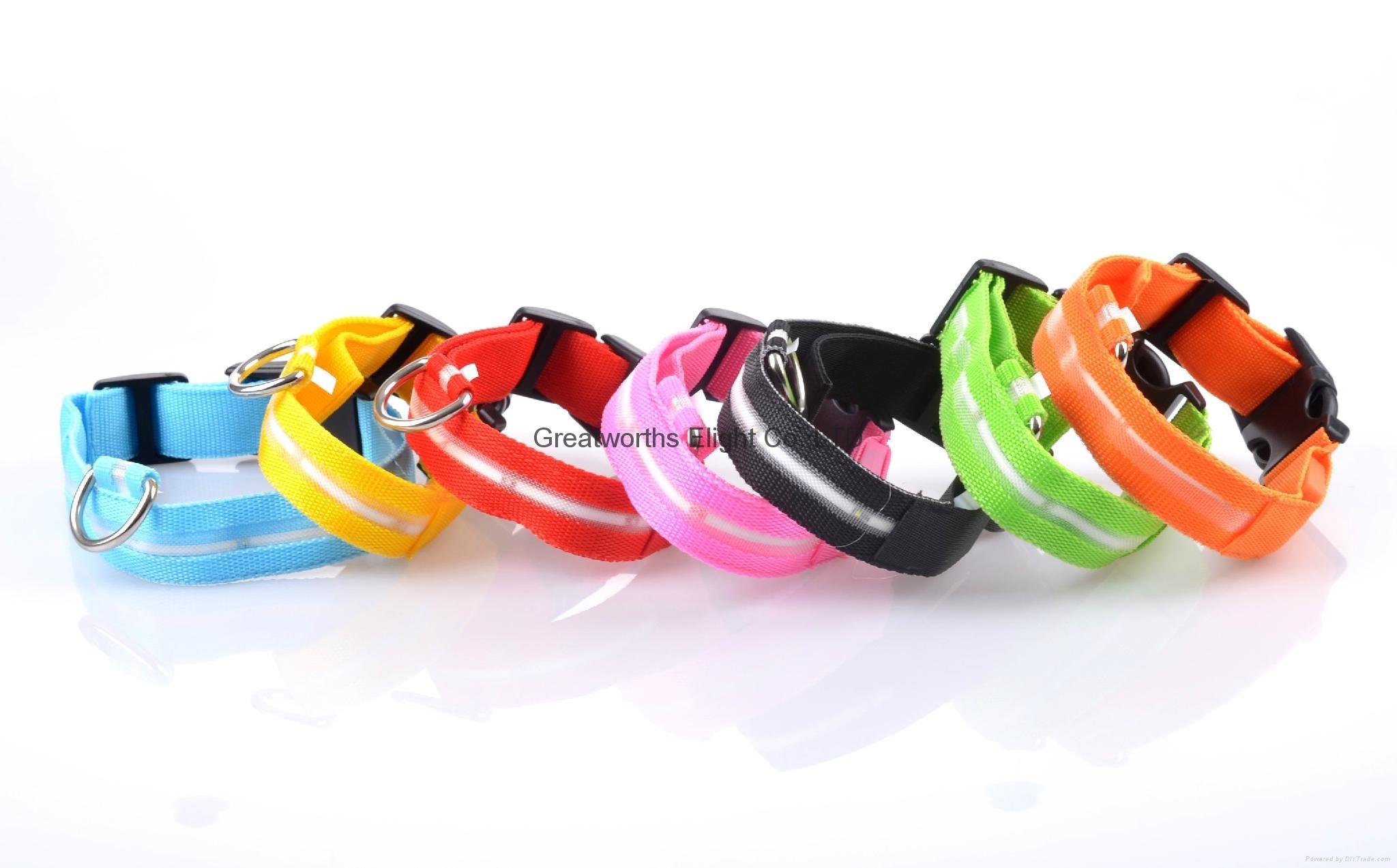 led light pet collar