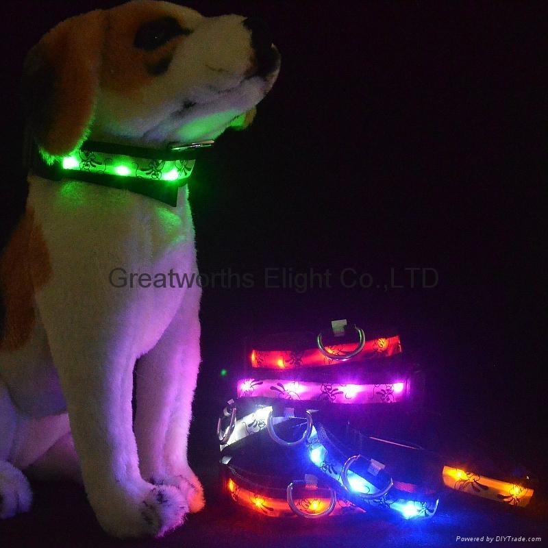 KT cat LED lamp collar