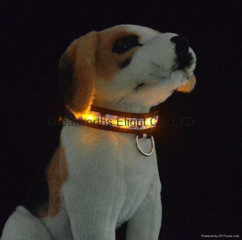 Pipibare LED lamp strip pet collar