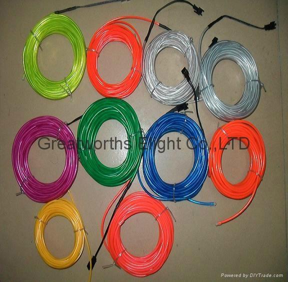 El Wire Set Cut Freedomly El Manufacture For Car Dance