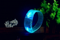 LED sound activated bracelet Motion activated