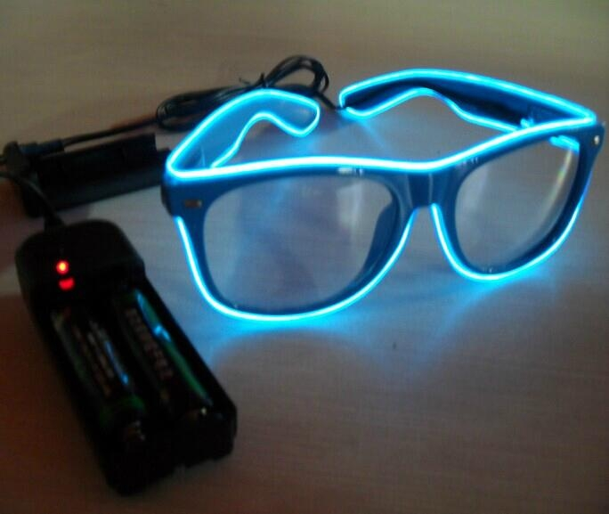 EL flash sunglasses EL glasses EL wire glasses hot sell - EL WG ...