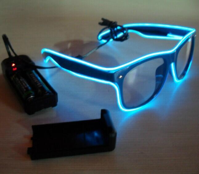 EL flash sunglasses EL glasses EL wire glasses hot sell - EL WG ...