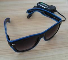 EL发光眼镜 EL眼镜